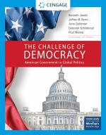 """""""The Challenge of Democracy, American Government in Global Politics, Enhanced"""" (9780357025499)"""