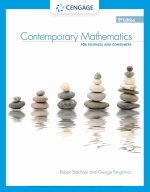 """Contemporary Mathematics for Business & Consumers"" (9780357026571)"