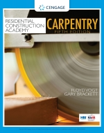 """""""Residential Construction Academy: Carpentry"""" (9780357027820)"""