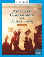 """American Government and Politics Today: The Essentials, Enhanced"" (9780357028582)"