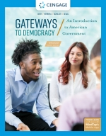 """""""Gateways to Democracy: An Introduction to American Government, Enhanced"""" (9780357028841)"""