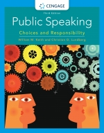 """""""Public Speaking: Choices and Responsibility"""" (9780357039090)"""