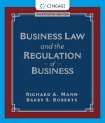 """Business Law and the Regulation of Business"" (9780357042618)"