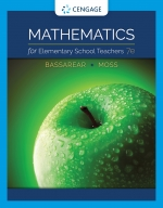 """Mathematics for Elementary School Teachers"" (9780357043868)"