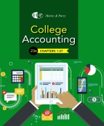 """College Accounting, Chapters 1-27"" (9780357117491)"
