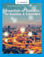 """Essentials of Statistics for Business and Economics"" (9780357118191)"