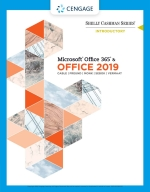 """Shelly Cashman Series Microsoft Office 365 & Office 2019 Introductory"" (9780357119211)"