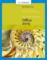 """New Perspectives Microsoft Office 365 & Office 2019 Introductory"" (9780357119976)"