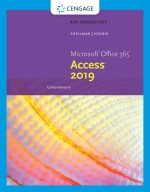 """""""New Perspectives Microsoft Office 365 & Access 2019 Comprehensive"""" (9780357119990)"""