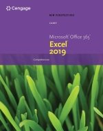 """""""New Perspectives Microsoft Office 365 & Excel 2019 Comprehensive"""" (9780357120019)"""