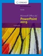 """""""New Perspectives Microsoft Office 365 & PowerPoint 2019 Comprehensive"""" (9780357120033)"""