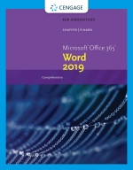 """New Perspectives Microsoft Office 365 & Word 2019 Comprehensive"" (9780357120057)"