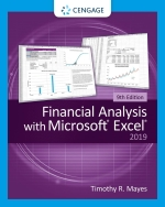 """FINANCIAL ANALYSIS WITH MICROSOFT EXCEL"" (9780357131145)"