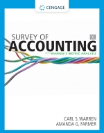 """""""Survey of Accounting"""" (9780357132821)"""