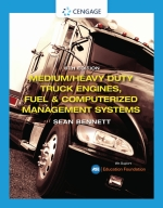 """""""Medium/Heavy Duty Truck Engines, Fuel & Computerized Management Systems"""" (9780357358641)"""