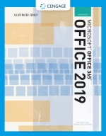"""""""Illustrated Microsoft Office 365 & Office 2019 Advanced"""" (9780357360156)"""