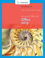 """""""New Perspectives Microsoft Office 365 & Office 2019 Intermediate"""" (9780357360514)"""