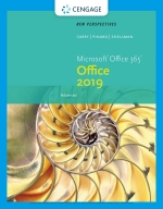 """""""New Perspectives Microsoft Office 365 & Office 2019 Advanced"""" (9780357360545)"""