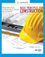 """Residential Construction Academy: Basic Principles for Construction"" (9780357364222)"