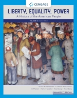 """""""Liberty, Equality, Power: A History of the American People, Volume 2: Since 1863"""" (9780357390580)"""