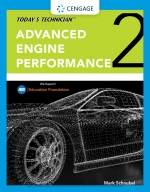 """Today's Technician: Advanced Engine Performance Classroom Manual and Shop Manual"" (9780357390658)"
