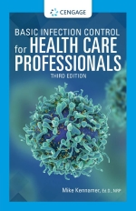 """""""Basic Infection Control for Health Care Professionals"""" (9780357433805)"""