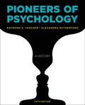 EBK PIONEERS OF PSYCHOLOGY (FIFTH EDITI