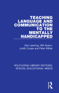 Teaching Language and Communication to the Mentally Handicapped 9780429949425