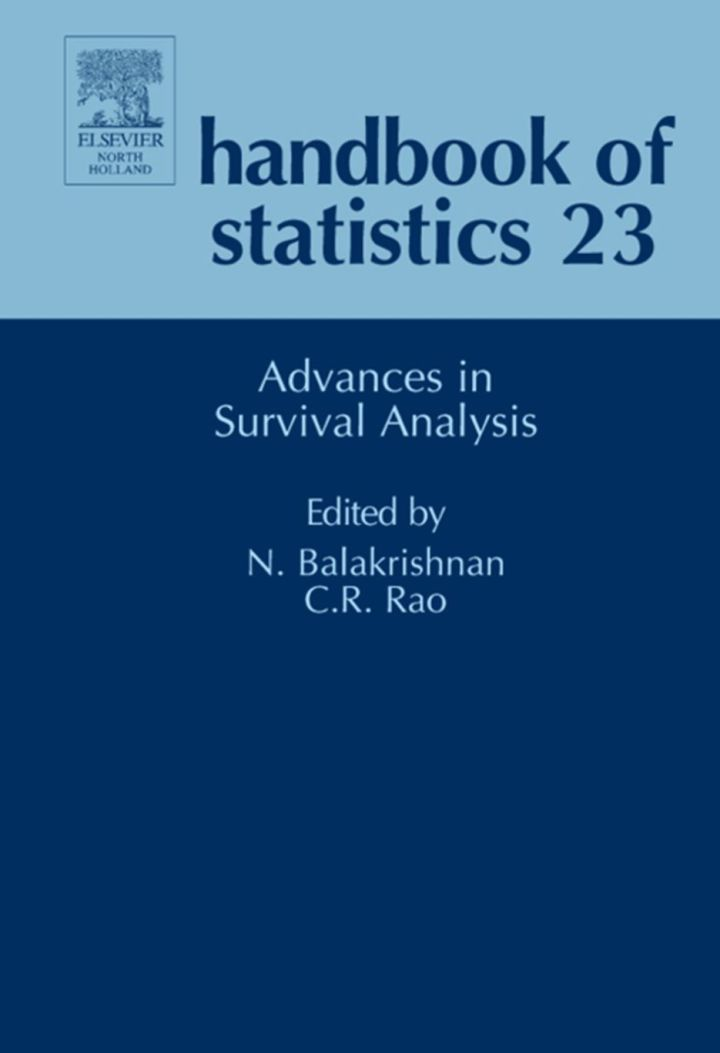 Handbook of Statistics: Advances in Survival Analysis