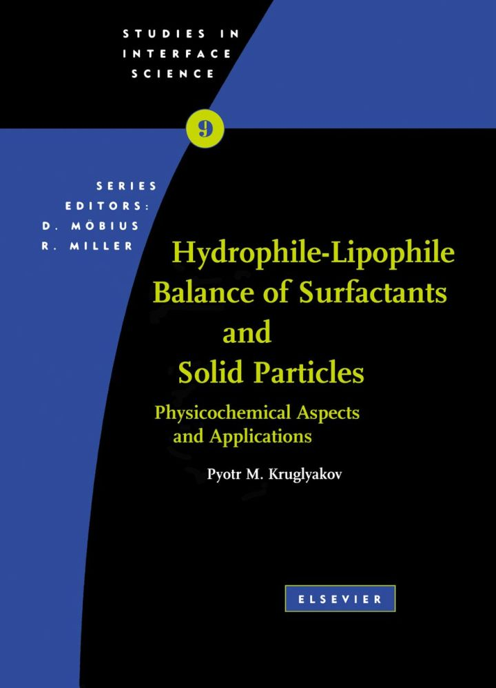 Hydrophile - Lipophile Balance of Surfactants and Solid Particles: Physicochemical aspects and applications
