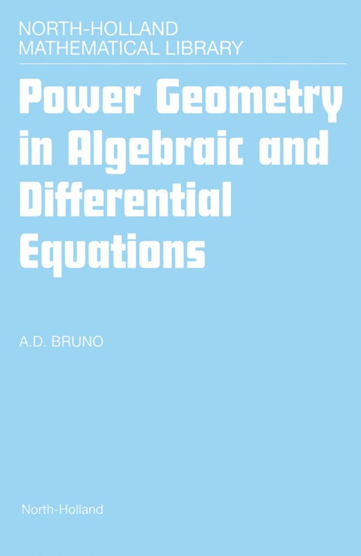 Power Geometry in Algebraic and Differential Equations