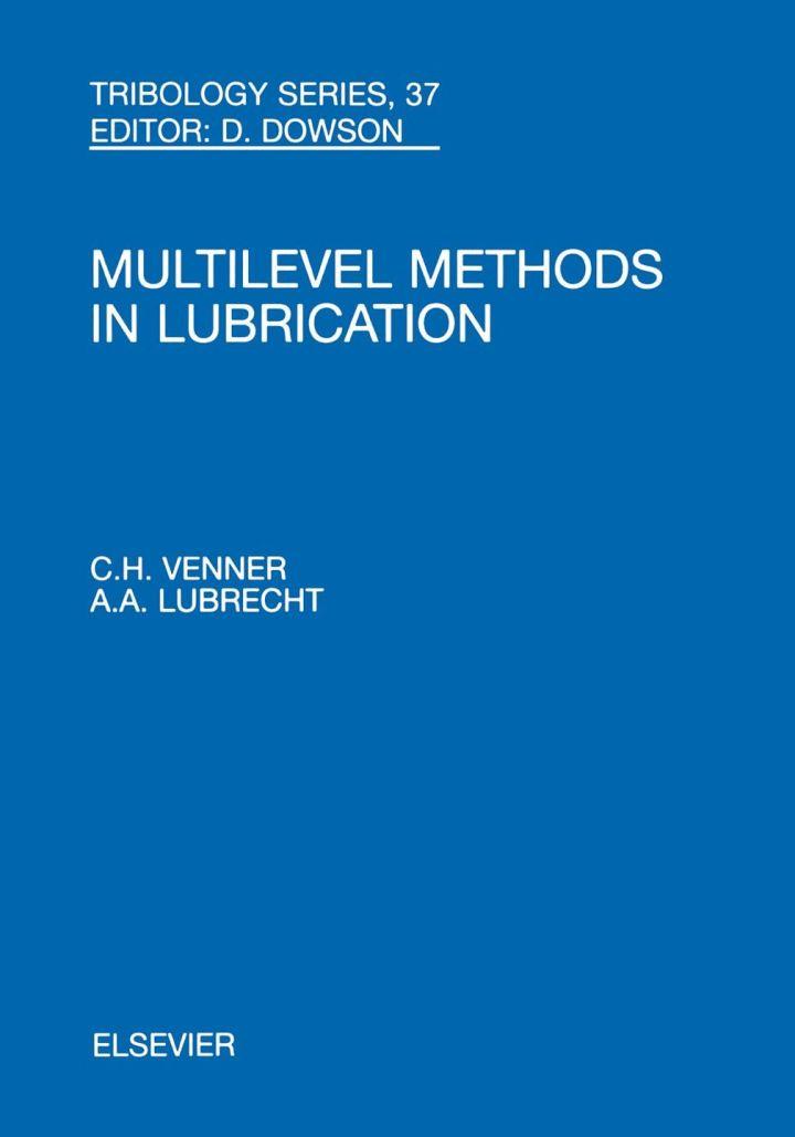 Multi-Level Methods in Lubrication