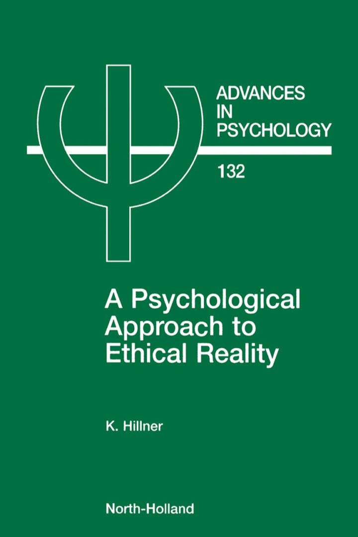 A Psychological Approach to Ethical Reality