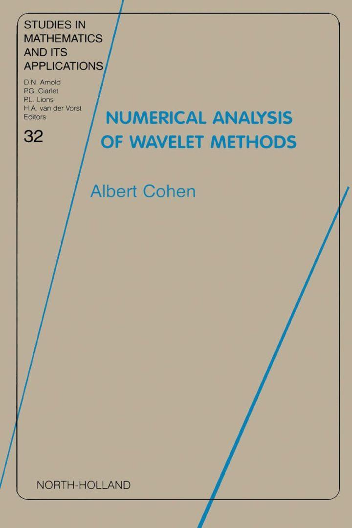 Numerical Analysis of Wavelet Methods