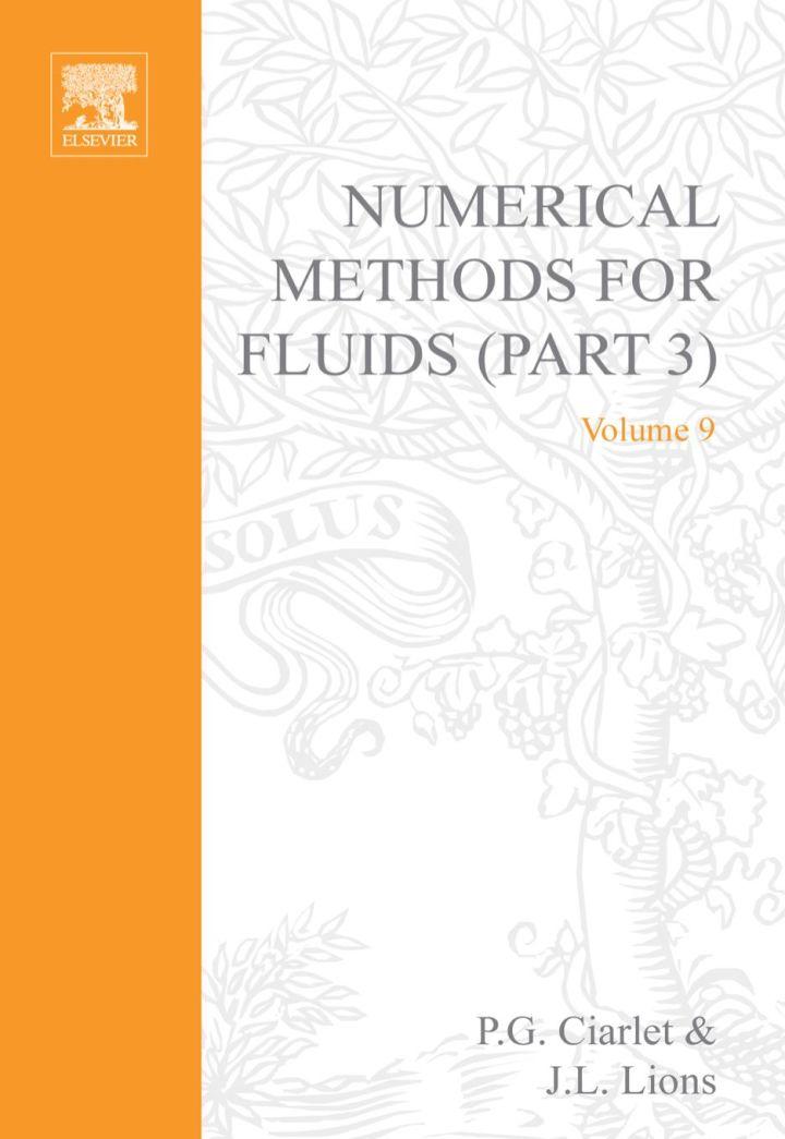 HANDBOOK OF NUMERICAL ANALYSIS IX