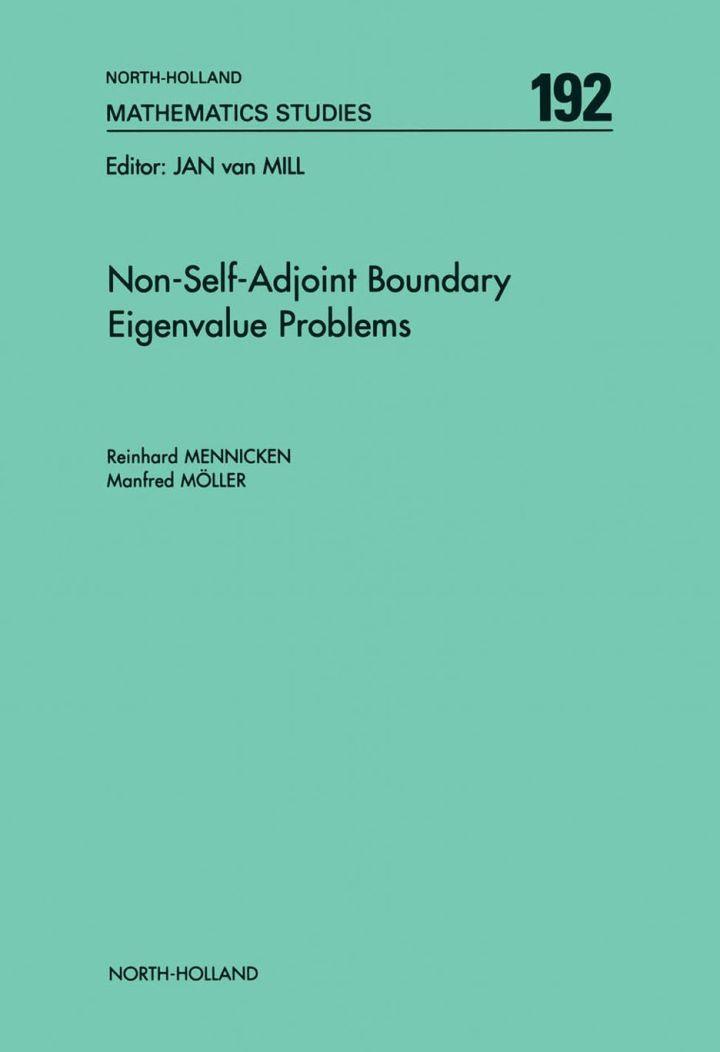 Non-Self-Adjoint Boundary Eigenvalue Problems