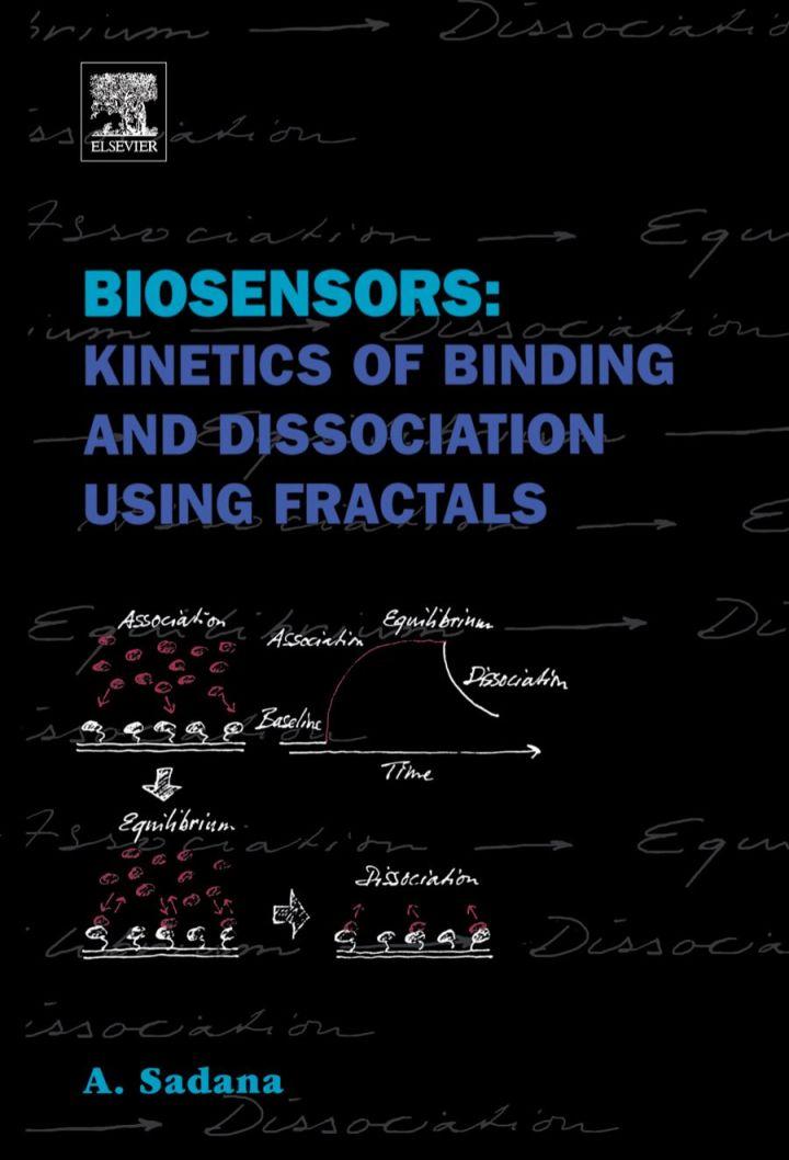 Biosensors: Kinetics of Binding and Dissociation Using Fractals: Kinetics of Binding and Dissociation Using Fractals