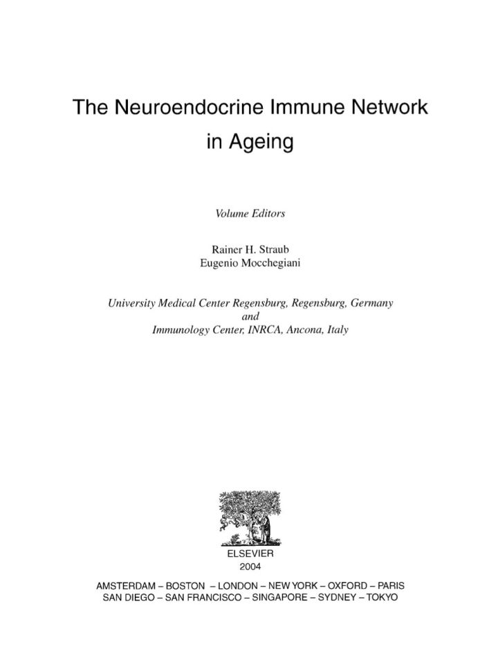 The Neuroendocrine Immune Network in Ageing