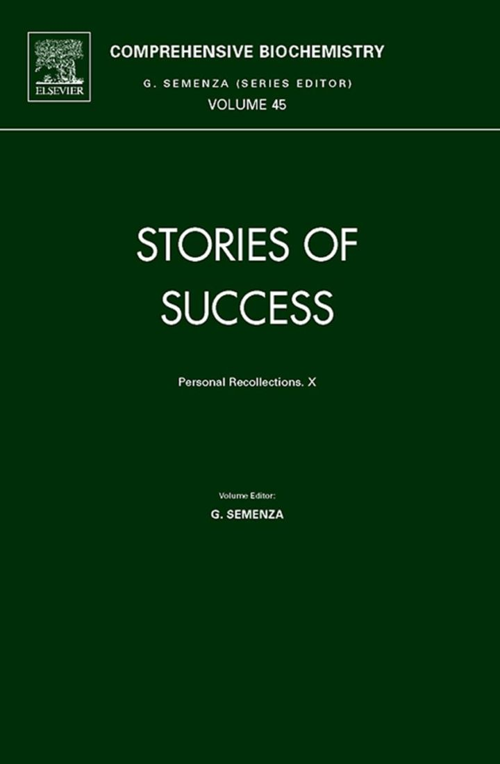 Stories of Success: Personal Recollections.  X