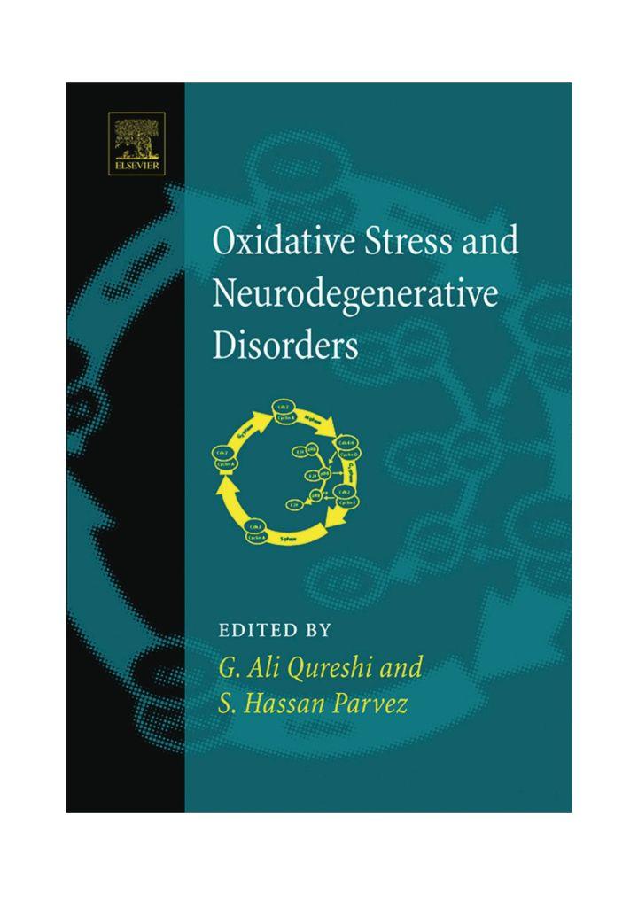 Oxidative Stress and Neurodegenerative Disorders
