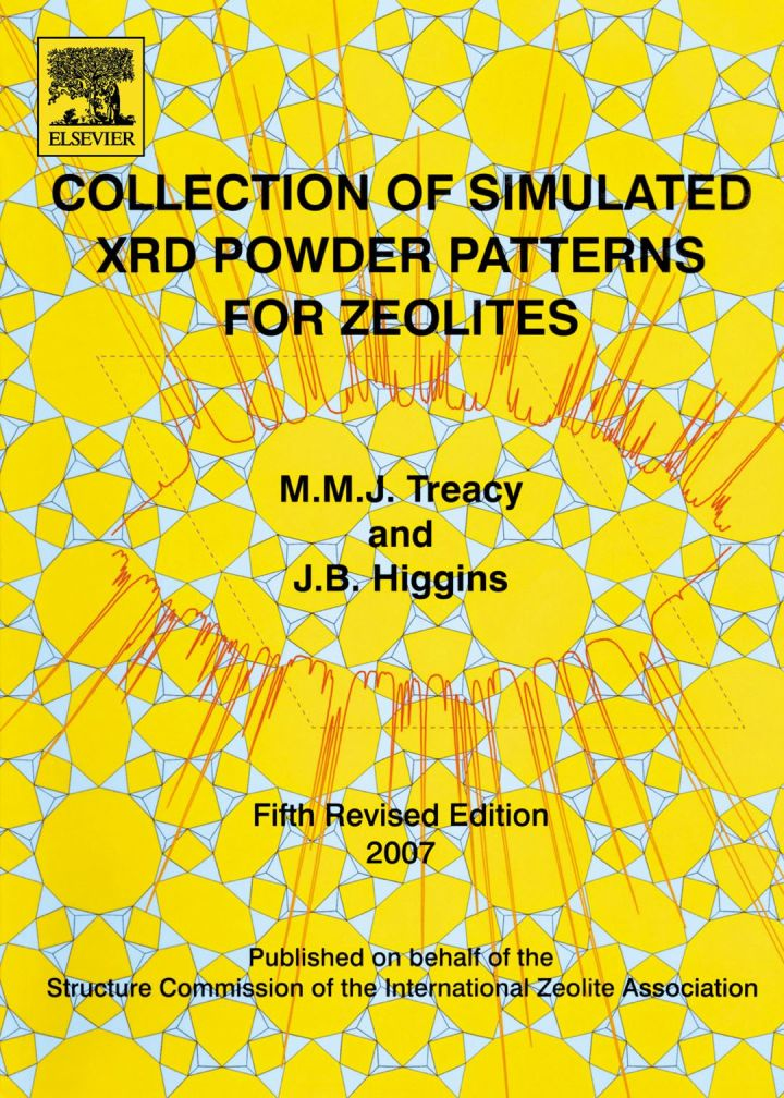 Collection of Simulated XRD Powder Patterns for Zeolites Fifth (5th) Revised Edition