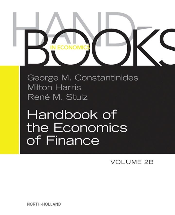 Handbook of the Economics of Finance: Asset Pricing