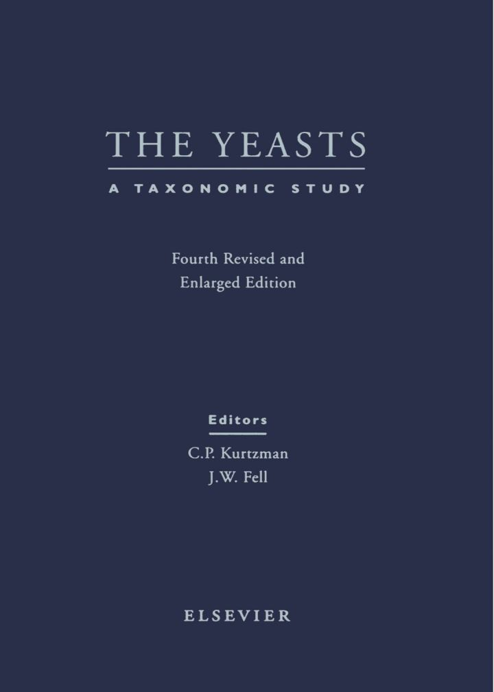 The Yeasts - A Taxonomic Study
