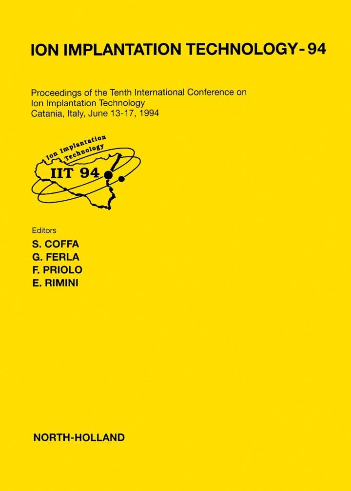 Ion Implantation Technology - 94