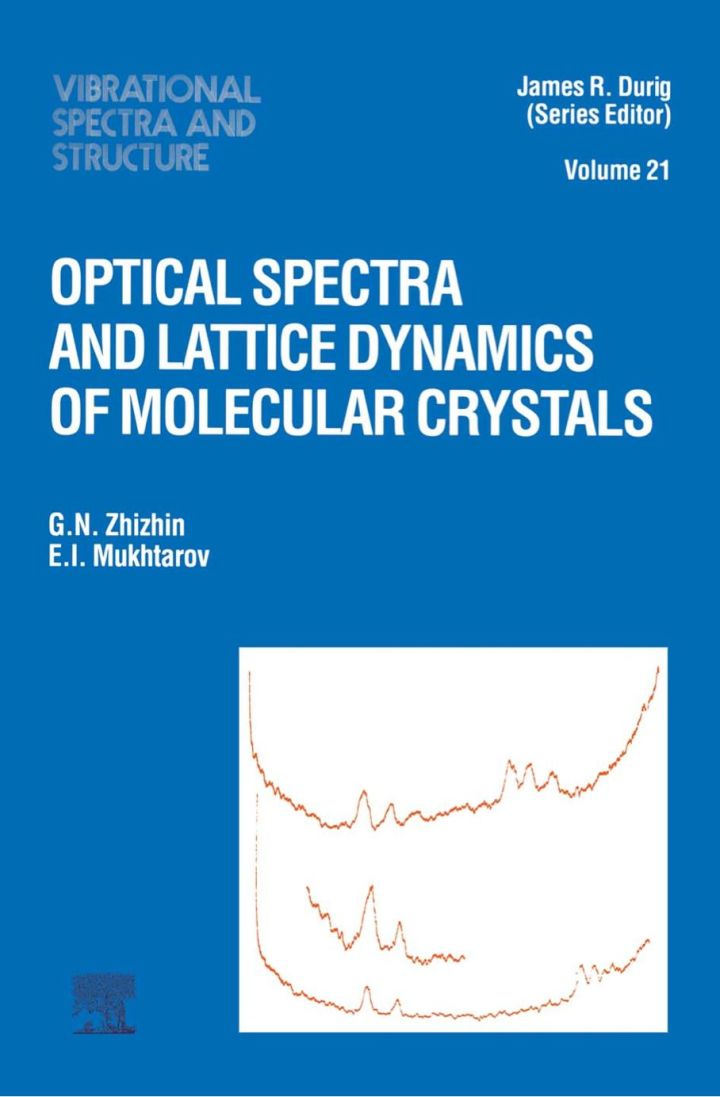 Optical Spectra and Lattice Dynamics of Molecular Crystals