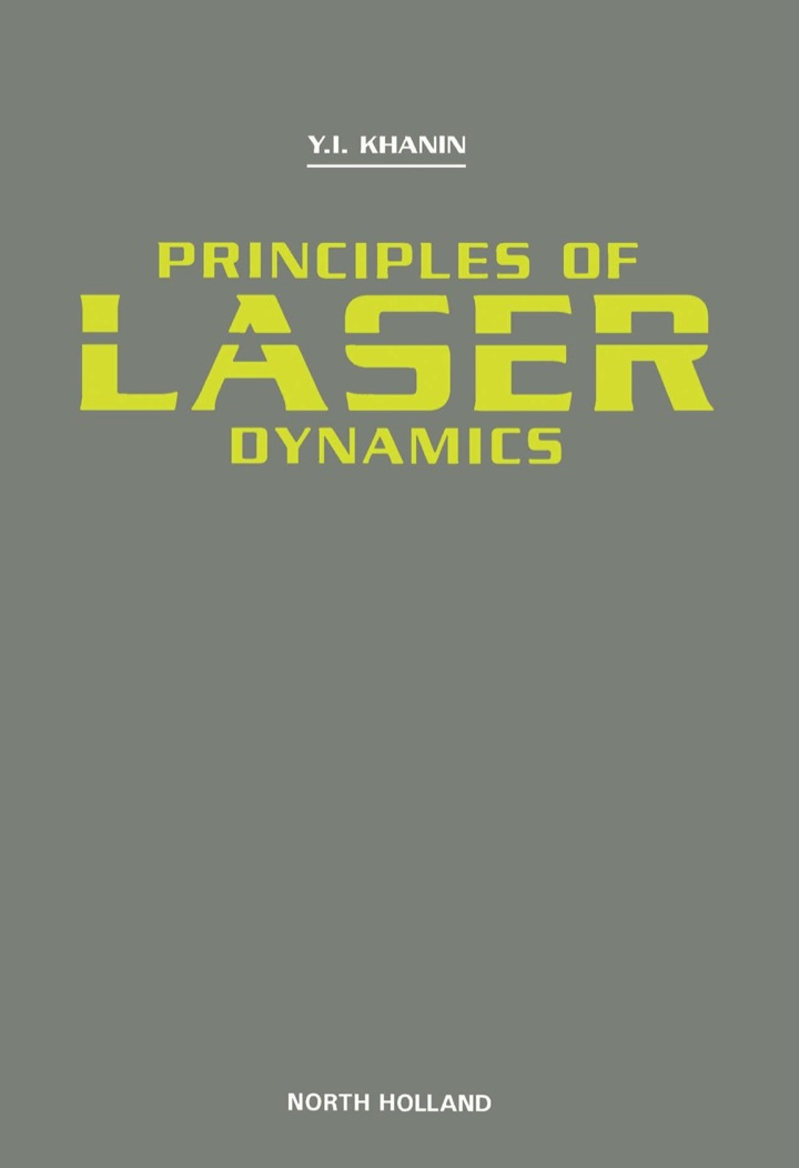 Principles of Laser Dynamics