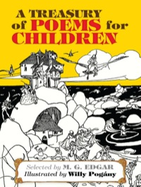 A Treasury of Poems for Children              by             M. G.  Edgar