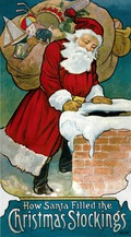 How Santa Filled the Christmas Stockings 9780486119458