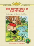The Adventures of Old Mr. Toad 9780486137360