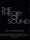 The Theory of Sound, Volume One 9780486140438